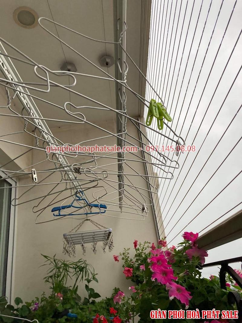 Sửa giàn phơi quần áo tại Cầu Giấy: Thay dây ở chung cư N01 Yên Hòa - 06