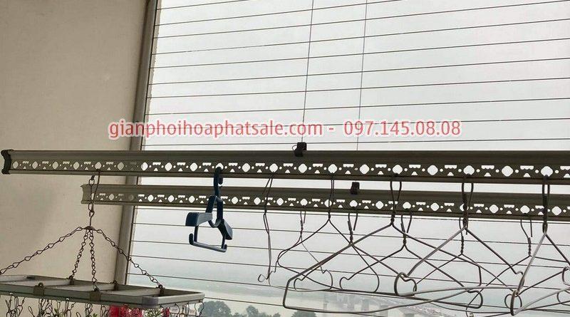 Sửa giàn phơi quần áo tại Cầu Giấy: Thay dây ở chung cư N01 Yên Hòa - 07