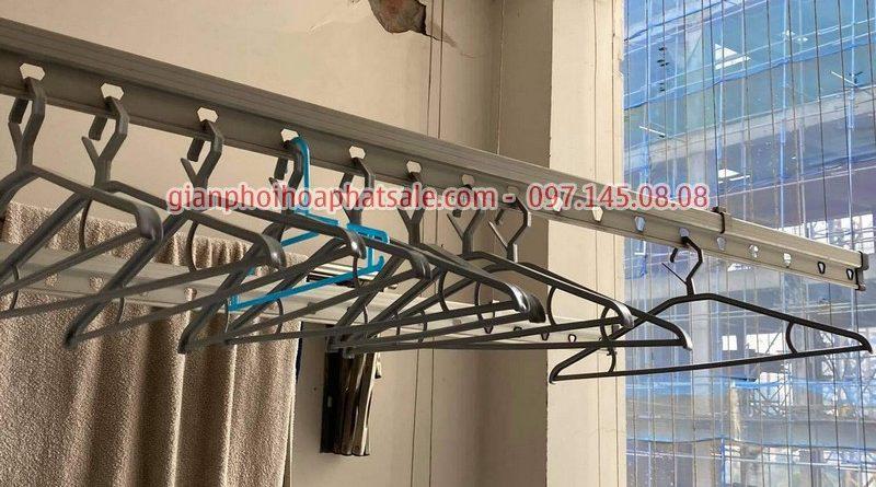 Sửa giàn phơi Ba Đình, thay dây cáp cho nhà anh Tiến, chung cư số 6 Nguyễn Công Hoan - 06