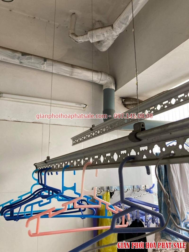 Sửa giàn phơi quần áo tại Hoàng Mai: thay dây cáp ở chung cư VP5 Linh Đàm - 01