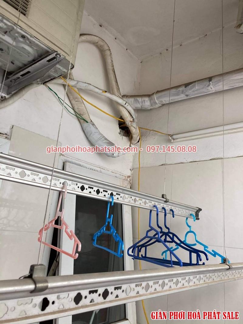 Sửa giàn phơi quần áo tại Hoàng Mai: thay dây cáp ở chung cư VP5 Linh Đàm - 03