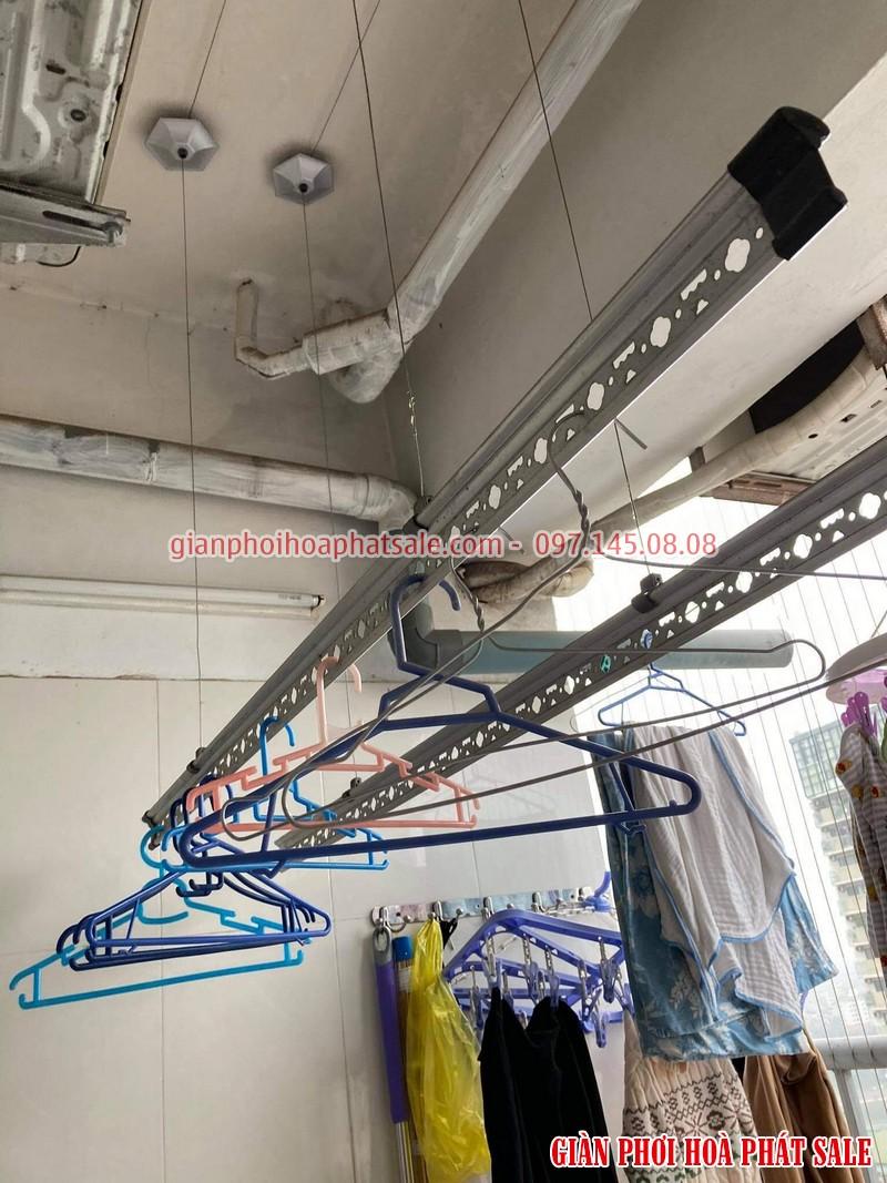 Sửa giàn phơi quần áo tại Hoàng Mai: thay dây cáp ở chung cư VP5 Linh Đàm - 04