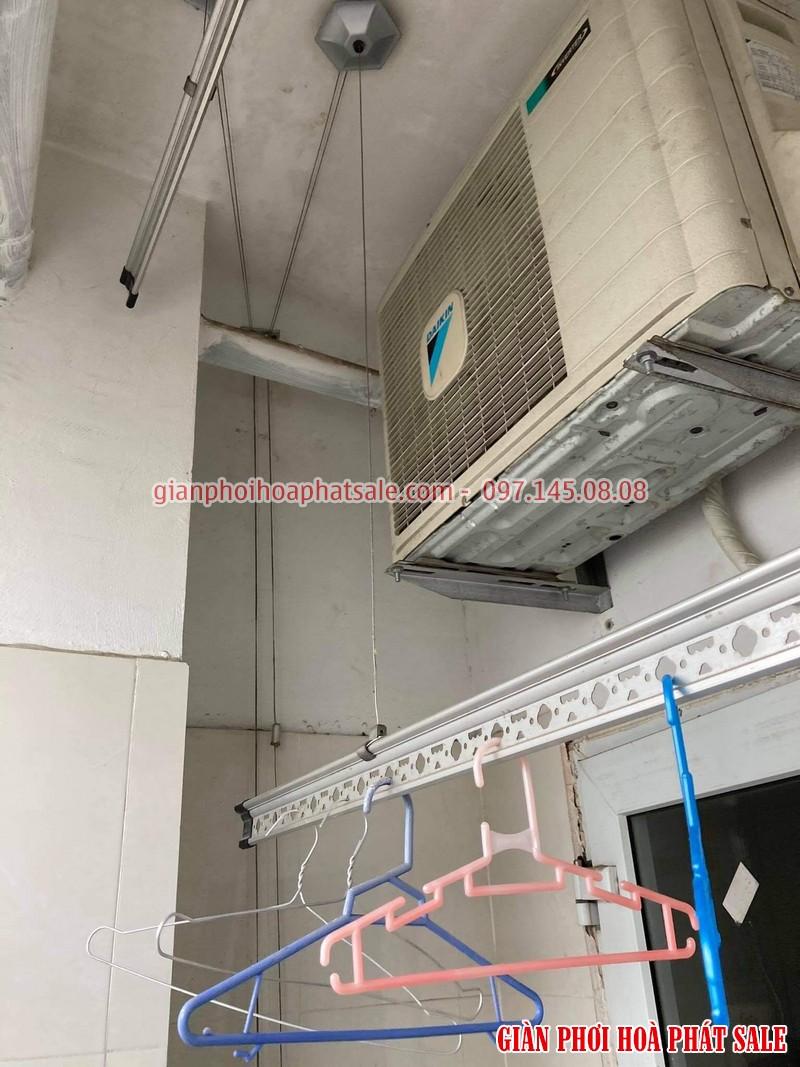 Sửa giàn phơi quần áo tại Hoàng Mai: thay dây cáp ở chung cư VP5 Linh Đàm - 06