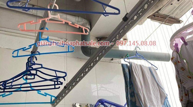 Sửa giàn phơi quần áo tại Hoàng Mai: thay dây cáp ở chung cư VP5 Linh Đàm - 07