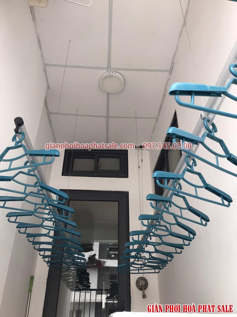giàn phơi Hòa Phát H006 lắp tại KĐT Đại Kim