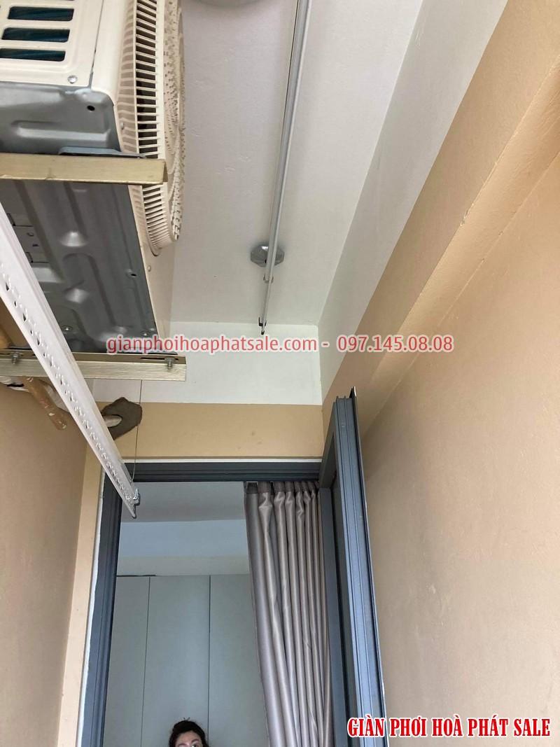 Lắp giàn phơi thông minh cho chung cư nhà chị Mai, CT36 Định Công - 03