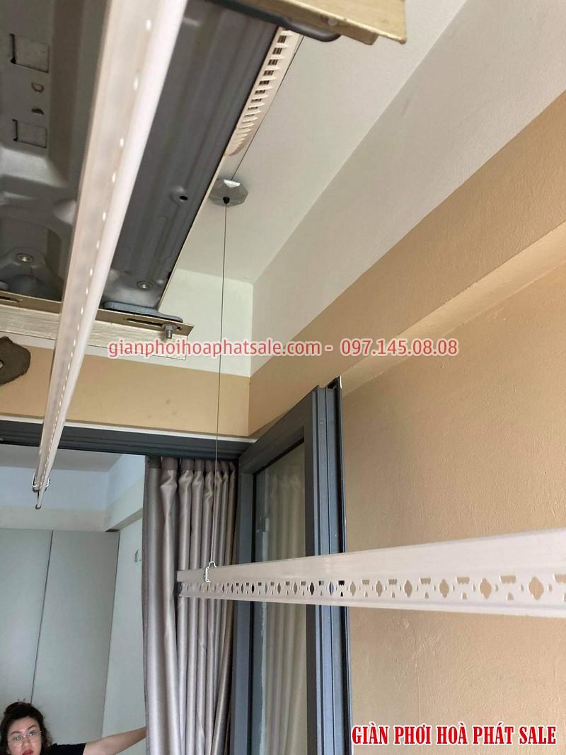 Lắp giàn phơi thông minh cho chung cư nhà chị Mai, CT36 Định Công - 04