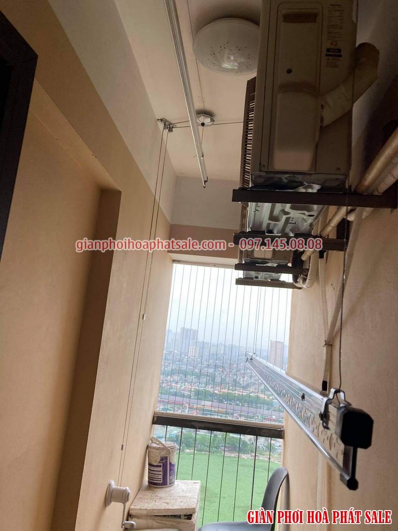 Lắp giàn phơi thông minh cho chung cư nhà chị Mai, CT36 Định Công - 05