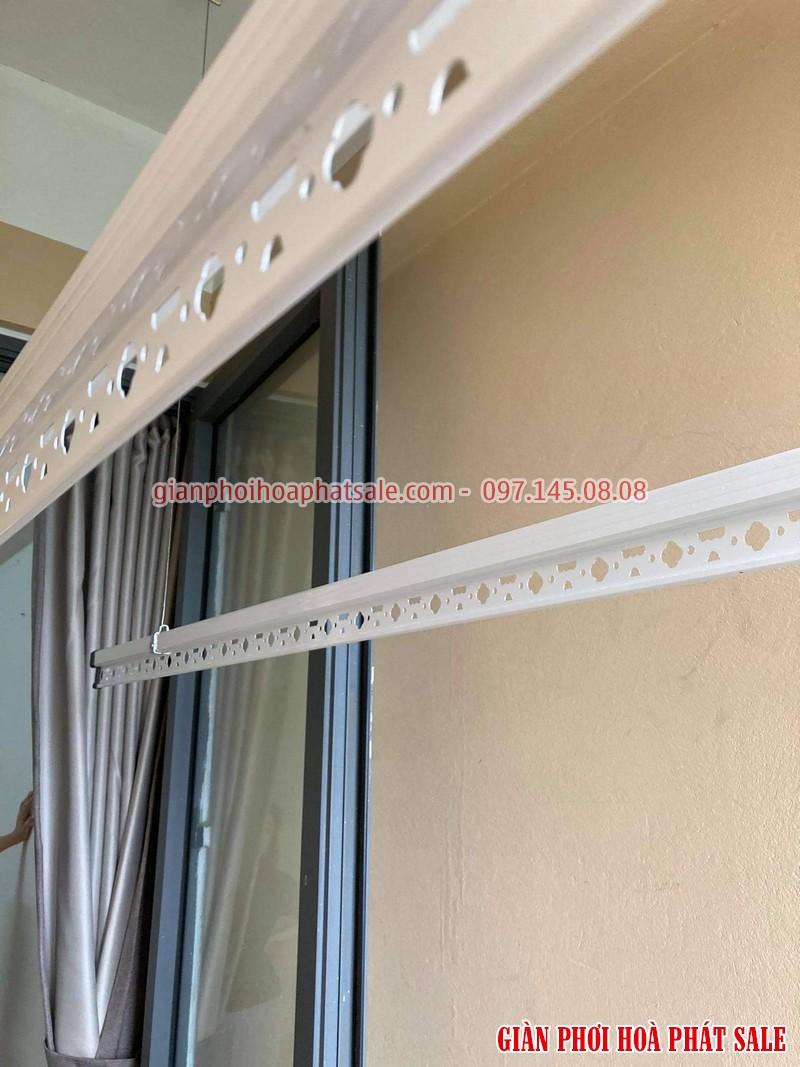 Lắp giàn phơi thông minh cho chung cư nhà chị Mai, CT36 Định Công - 06