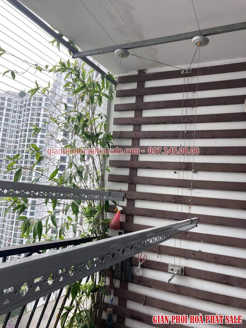 Sửa giàn phơi tại Vinhomes Smart City tòa S1.02 nhà chị Tuyền - 02