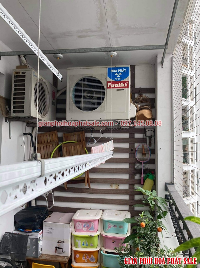Sửa giàn phơi tại Vinhomes Smart City tòa S1.02 nhà chị Tuyền - 04