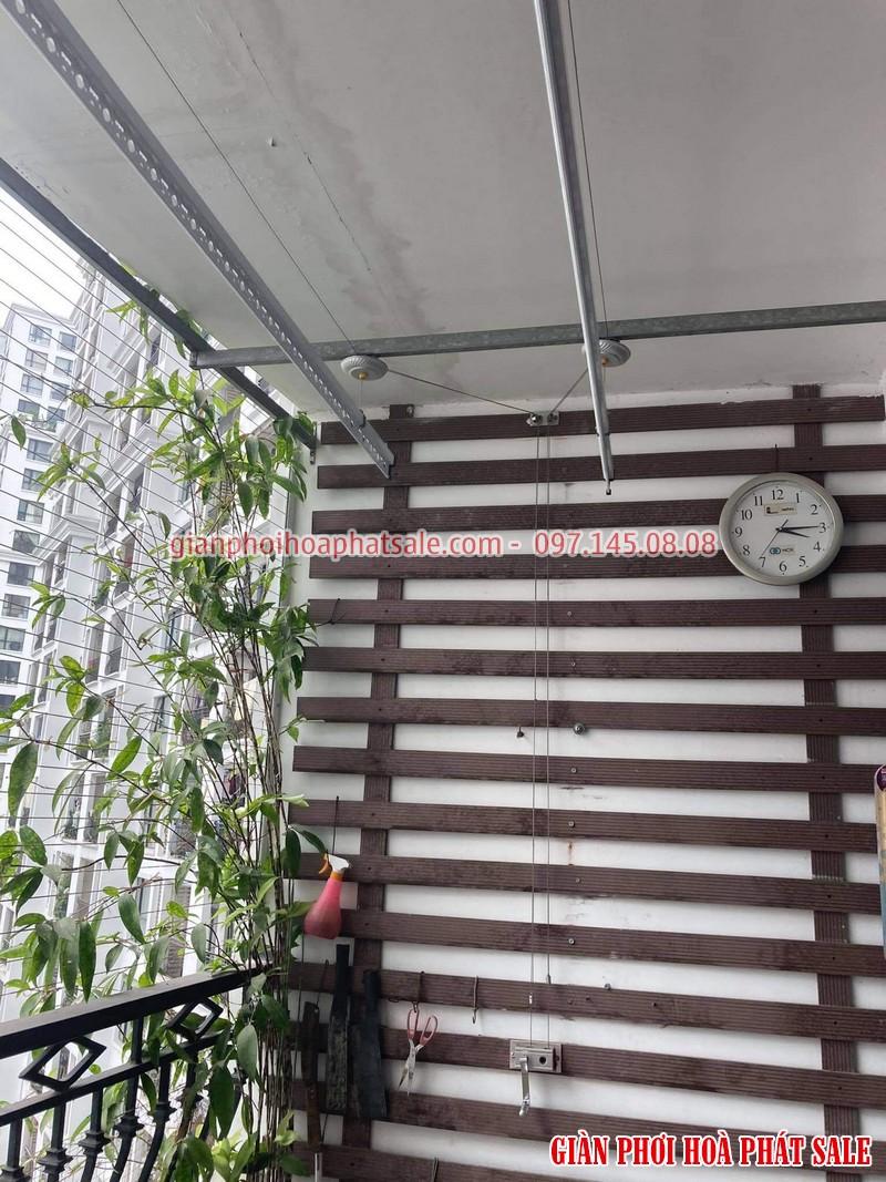 Sửa giàn phơi tại Vinhomes Smart City tòa S1.02 nhà chị Tuyền - 05