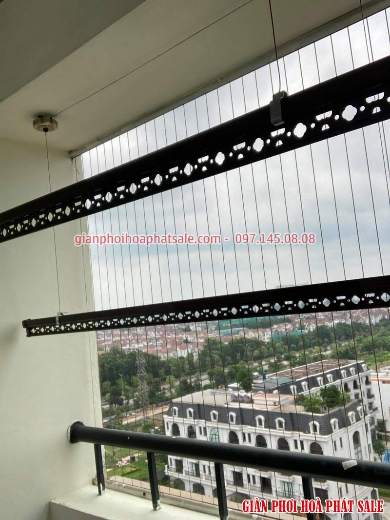 Lắp giàn phơi Hòa Phát HP300 cho chung cư giá rẻ
