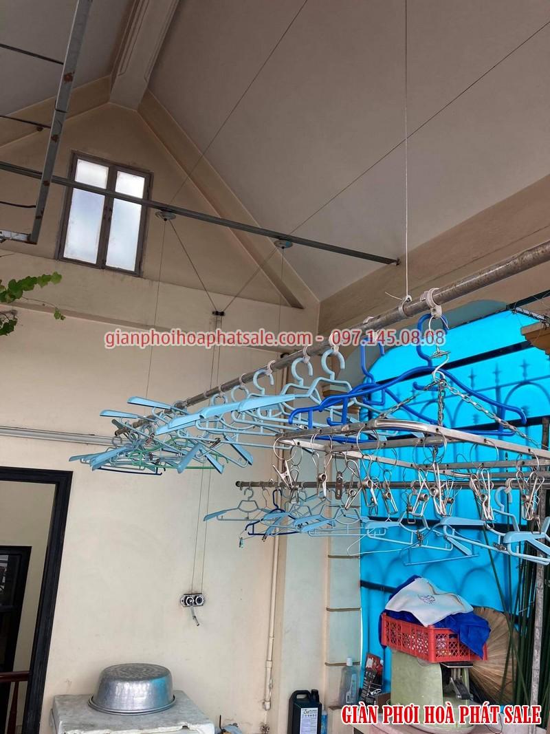 Ảnh sửa giàn phơi siêu rẻ tại Long Biên nhà chị Nhu - 04
