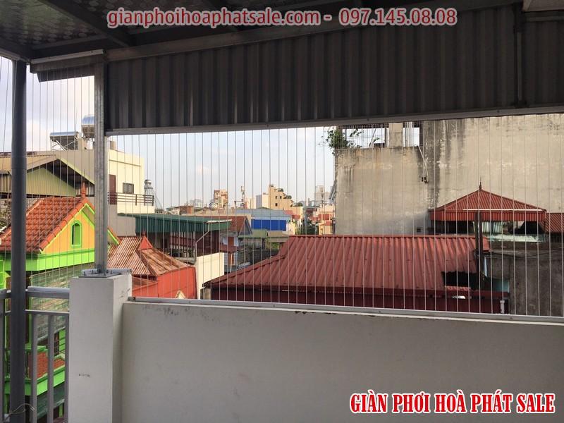 Thi công lưới an toàn ban công giá rẻ tại Hà Nội