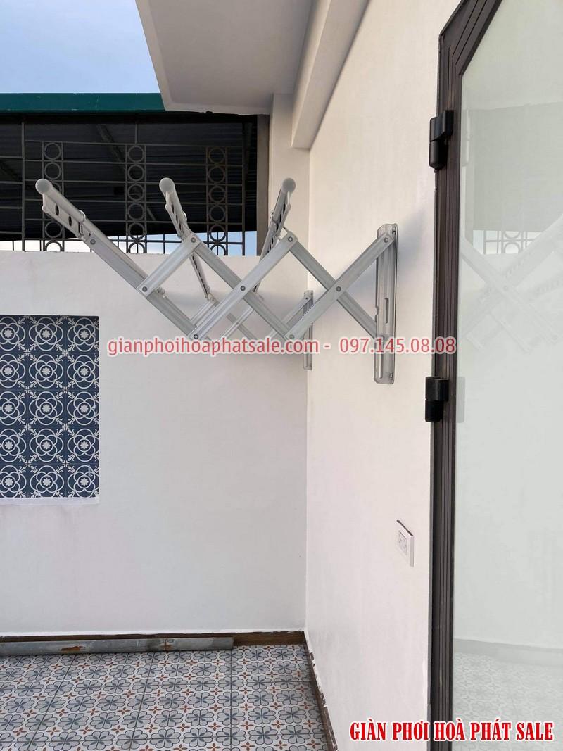 Lắp giàn phơi Đống Đa cho nhà phố có thể chọn mẫu gắn tường hiện đại
