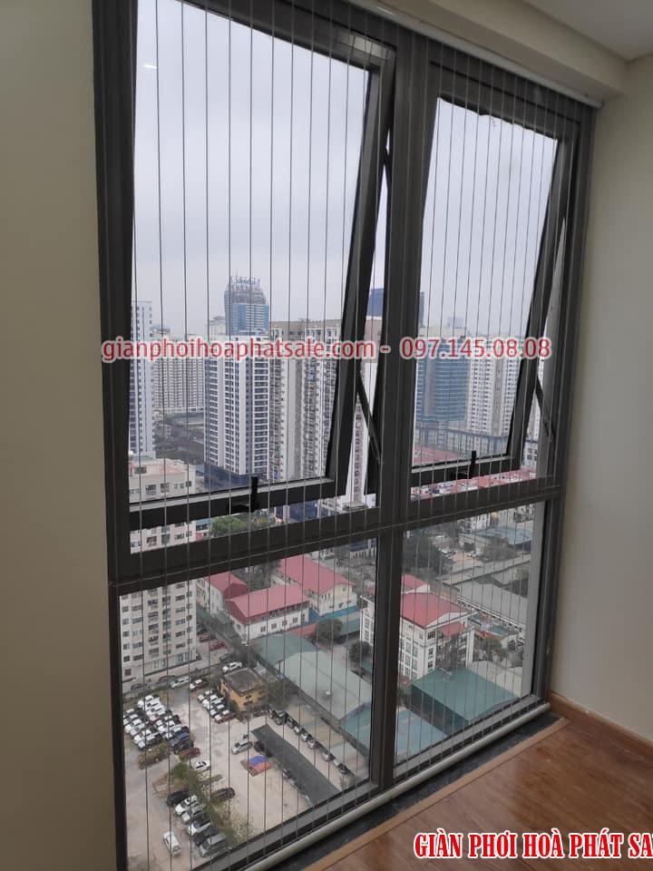 Mẫu lưới bảo vệ cửa sổ làm full ô cửa