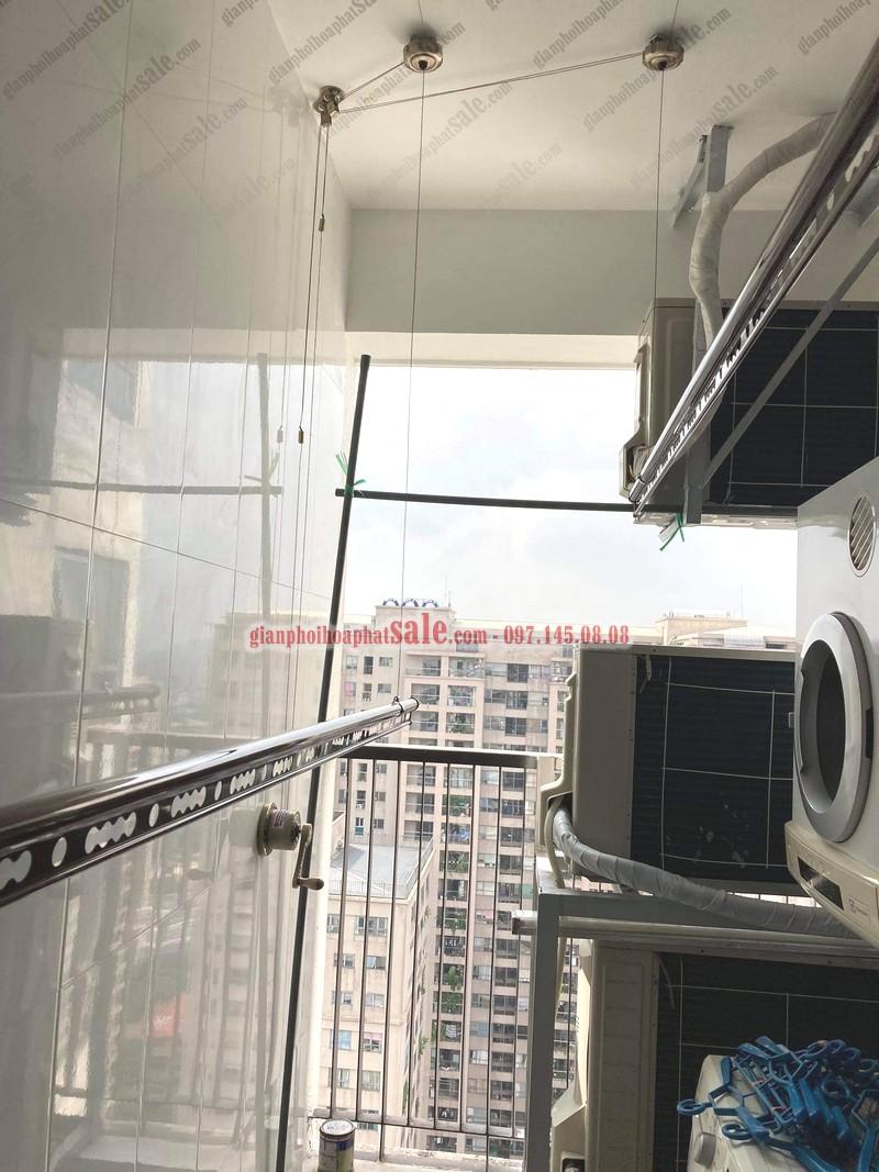 """giàn phơi Hòa Phát HP300 thiết kế """"đỉnh của chóp"""""""